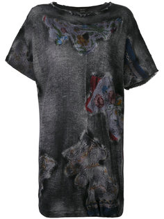 блузка с принтом Avant Toi