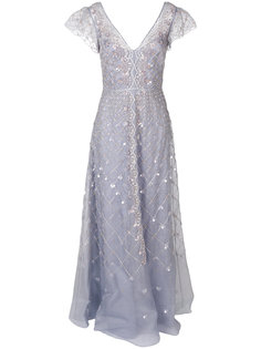 длинное платье Jewellery Temperley London
