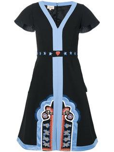 платье мини Parchment Temperley London