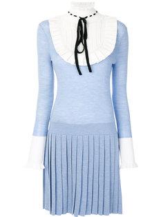 трикотажное платье мини Sigmund Temperley London