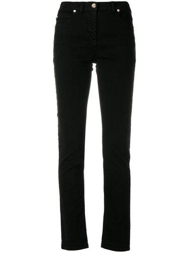 джинсы скинни 'Medusa' Versace