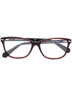 очки в прямоугольной оправе Balmain