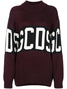 свитер с вышитым логотипом  Gcds