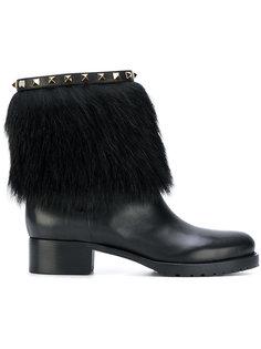 зимние ботинки Valentino Garavani Rockstud Valentino