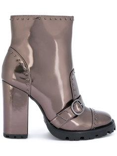 блестящие ботинки с заклепками Schutz