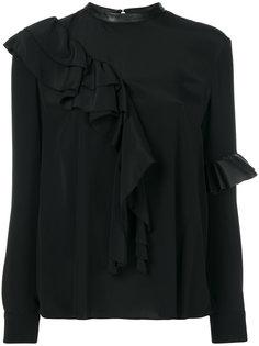 блузка с оборкой  Drome