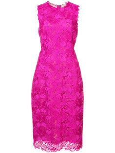 гпюровое приталенное платье  Monique Lhuillier
