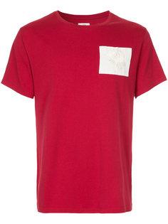 футболка с заплаткой Kent & Curwen