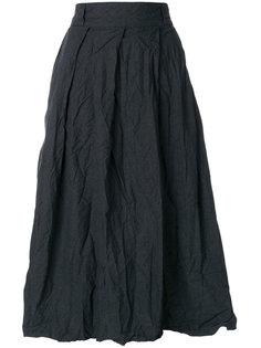юбка с завышенной талией с эффектом помятости Daniela Gregis
