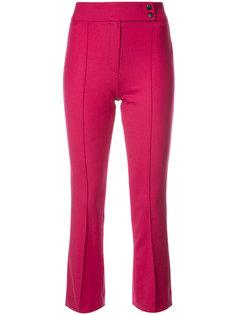 укороченные расклешенные брюки Veronica Beard
