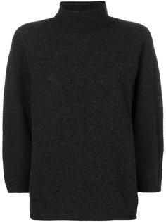 свитер с высокой горловиной и укороченными рукавами Max Mara