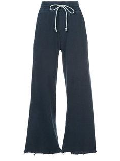 расклешенные спортивные брюки Mother