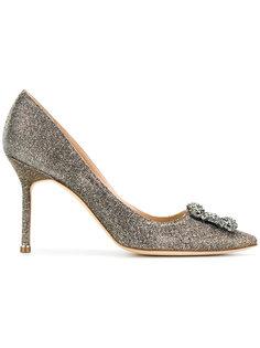 блестящие туфли Hangisi Manolo Blahnik