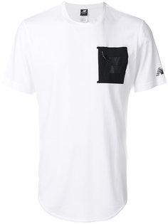 футболка с нагрудным карманом New Balance