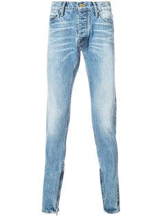джинсы кроя слим Fear Of God