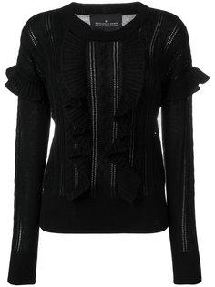 вязаный свитер Mallory с косами и рюшами Designers Remix