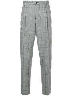 классические брюки в клетку Tomorrowland