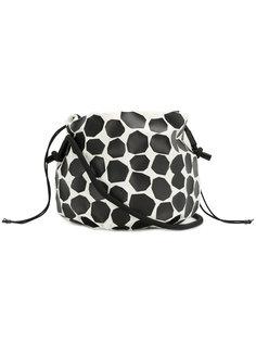 сумка на плечо на принтом Pleats Please By Issey Miyake