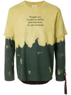 футболка с многослойными рукавами Sold Out Frvr