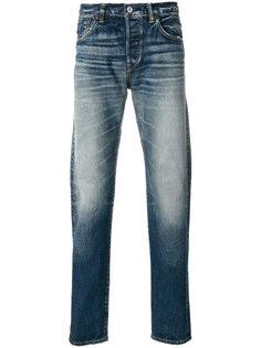 джинсы с потертой отделкой Edwin