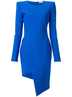 приталенное платье асимметричного кроя Mugler