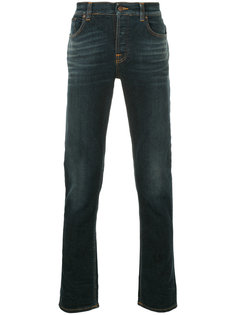 джинсы кроя слим Grim Tim Nudie Jeans Co