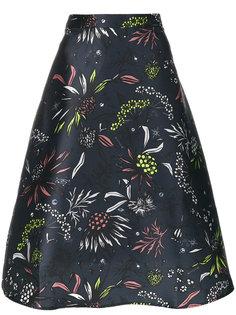 расклешенная юбка с вышивкой  Markus Lupfer