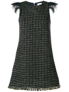 твидовое А-образное платье Ainea
