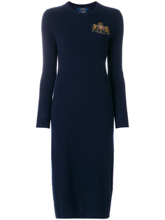 платье миди с логотипом  Polo Ralph Lauren