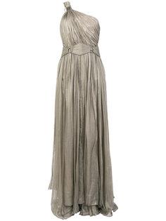 вечернее платье Flore на одно плечо Maria Lucia Hohan