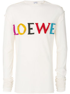 футболка с аппликацией логотипа Loewe