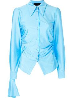 блузка со сборками Erika Cavallini