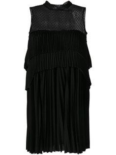 многослойное платье Max Mara