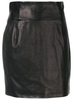 прямая мини-юбка Alexandre Vauthier