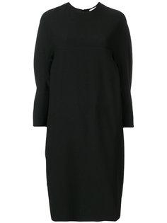 драпированное платье мешковатого кроя  Henrik Vibskov