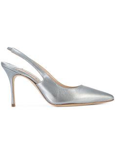 туфли с ремешком на пятке Manolo Blahnik