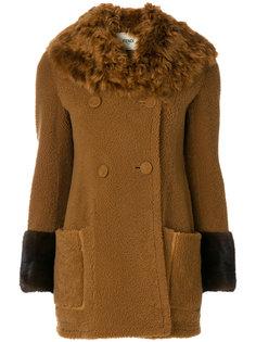 приталенное пальто  Fendi
