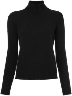 свитер  с отворотной горловиной  Drumohr