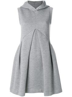платье без рукавов с капюшоном  Mm6 Maison Margiela
