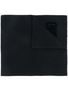 шарф с вышивкой логотипа Moschino