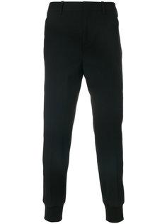 зауженные брюки с полосками по бокам Neil Barrett