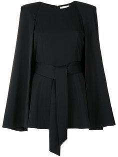 объемная блузка с поясом Misha Collection