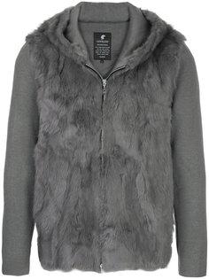 куртка с отделкой из кроличьего меха Loveless