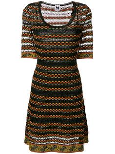 платье в полоску А-образного силуэта M Missoni