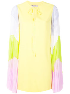 contrast-sleeves dress Emilio Pucci