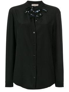 lace-up blouse Emilio Pucci