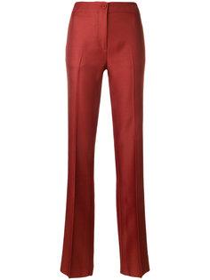 брюки строгого кроя с полосками по бокам Emilio Pucci