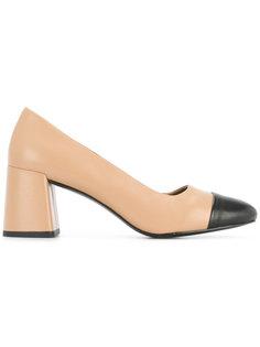 туфли с контрастным носком Senso
