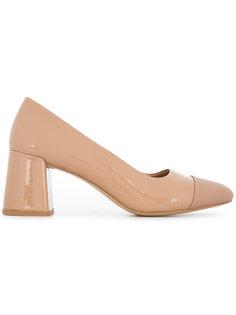 туфли на массивном каблуке Senso