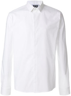 классическая рубашка с потайной засежкой на пуговицах Les Hommes Urban